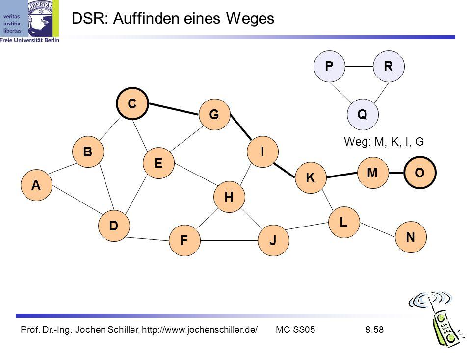 DSR: Auffinden eines Weges
