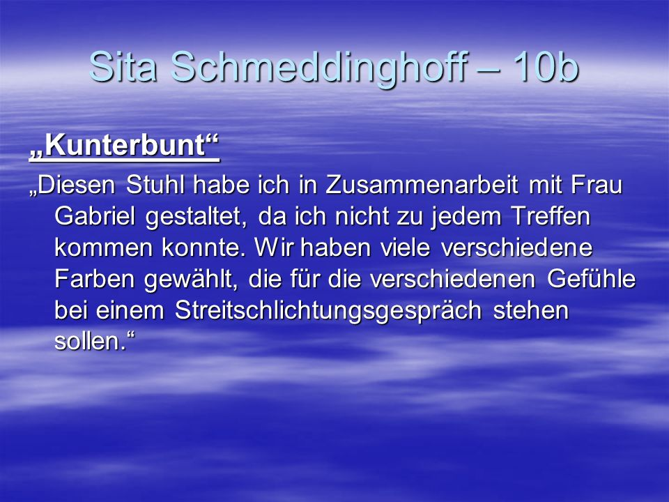 Sita Schmeddinghoff – 10b