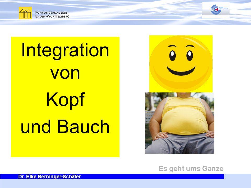Integration von Kopf und Bauch