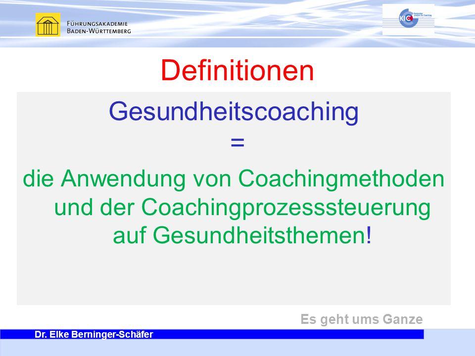 Gesundheitscoaching =