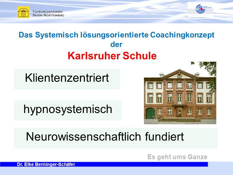 Das Systemisch lösungsorientierte Coachingkonzept