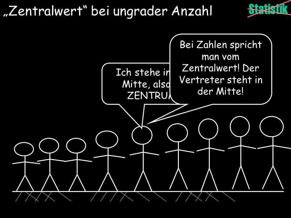 """""""Zentralwert bei ungrader Anzahl"""