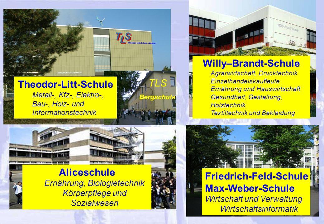 Willy–Brandt-Schule Theodor-Litt-Schule Aliceschule