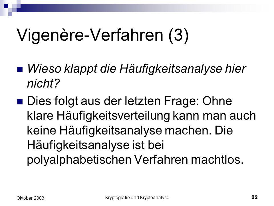 Vigenère-Verfahren (3)