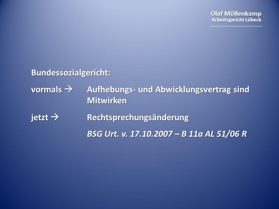 Bundessozialgericht: