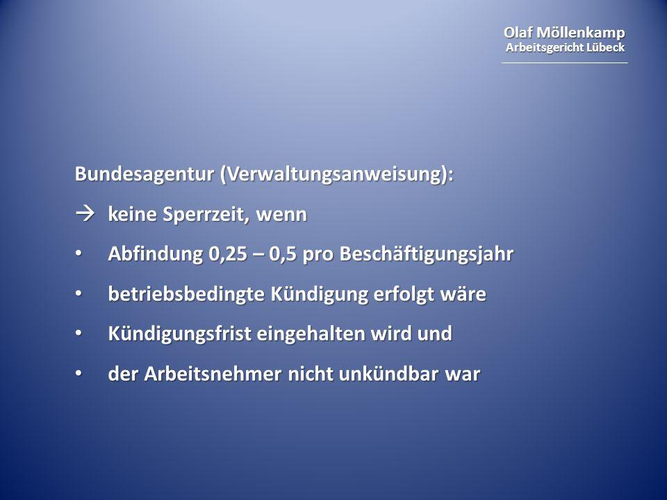 Bundesagentur (Verwaltungsanweisung):