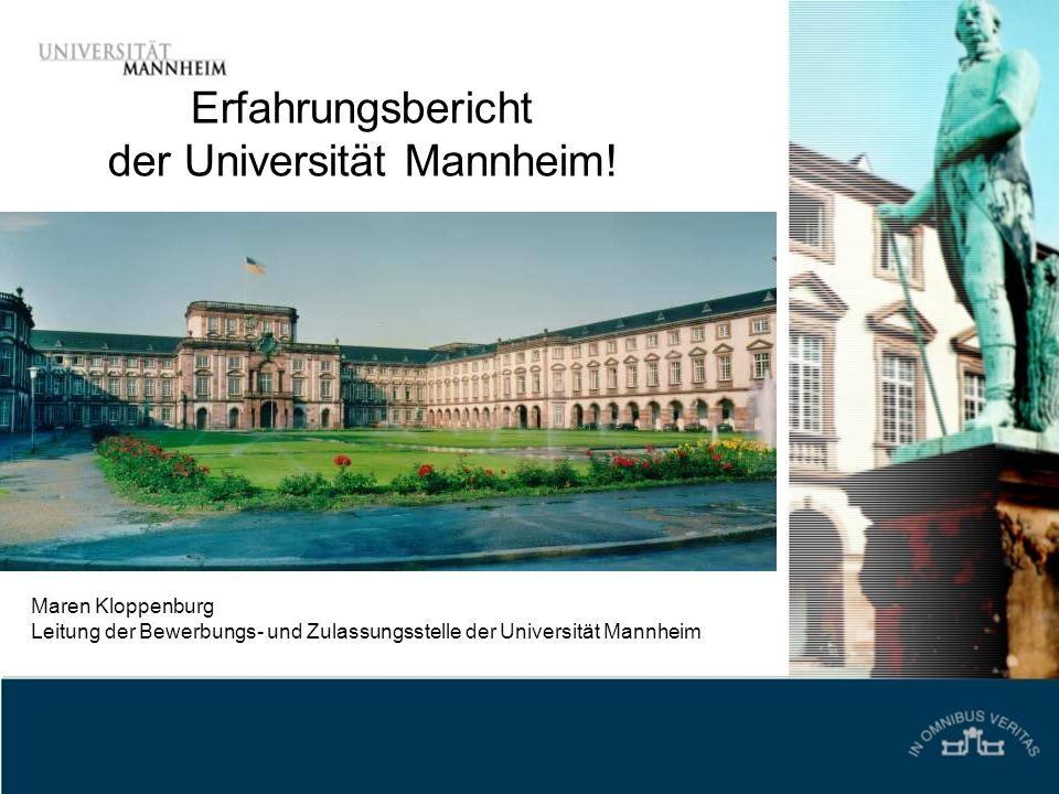 der Universität Mannheim!