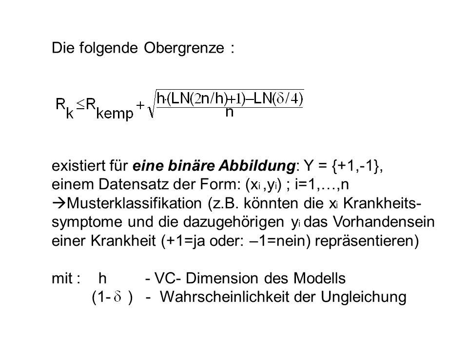 (1- ) - Wahrscheinlichkeit der Ungleichung