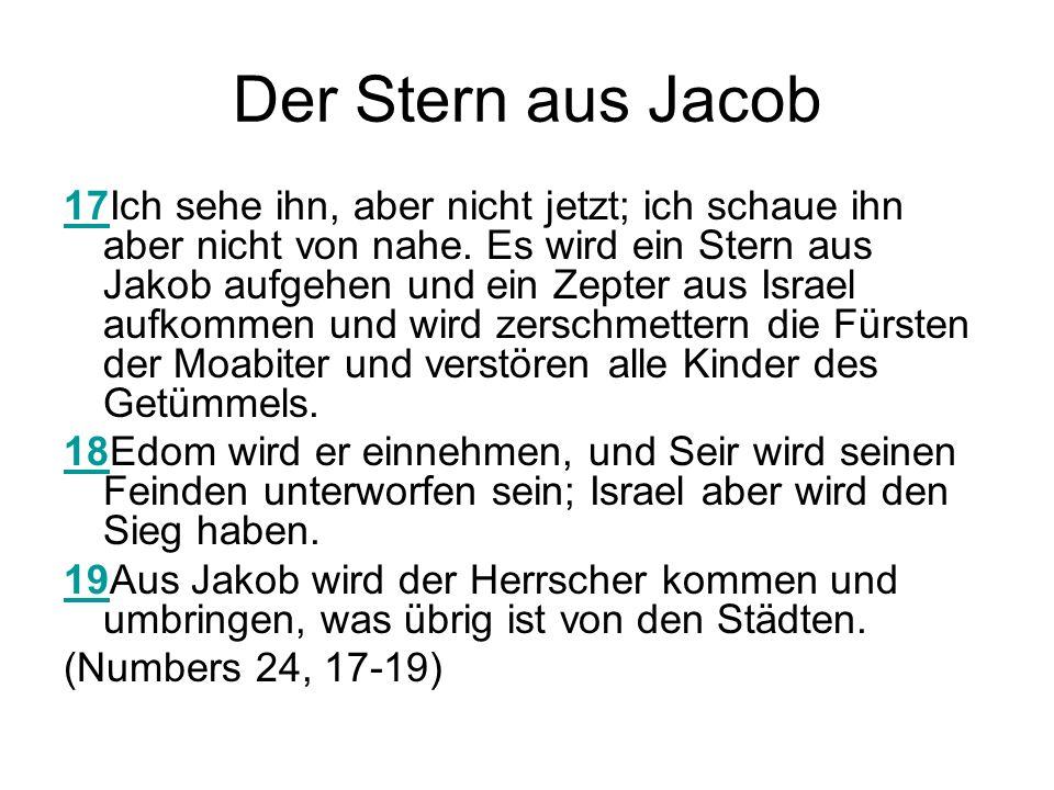 Der Stern aus Jacob