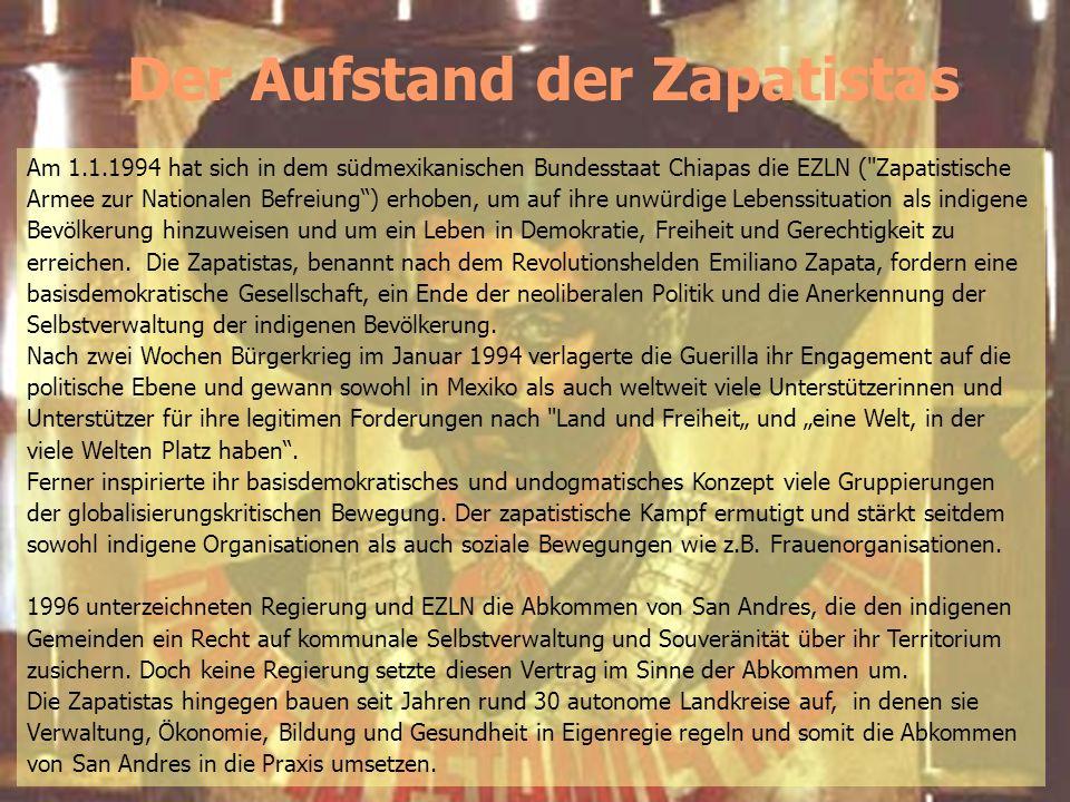 Der Aufstand der Zapatistas