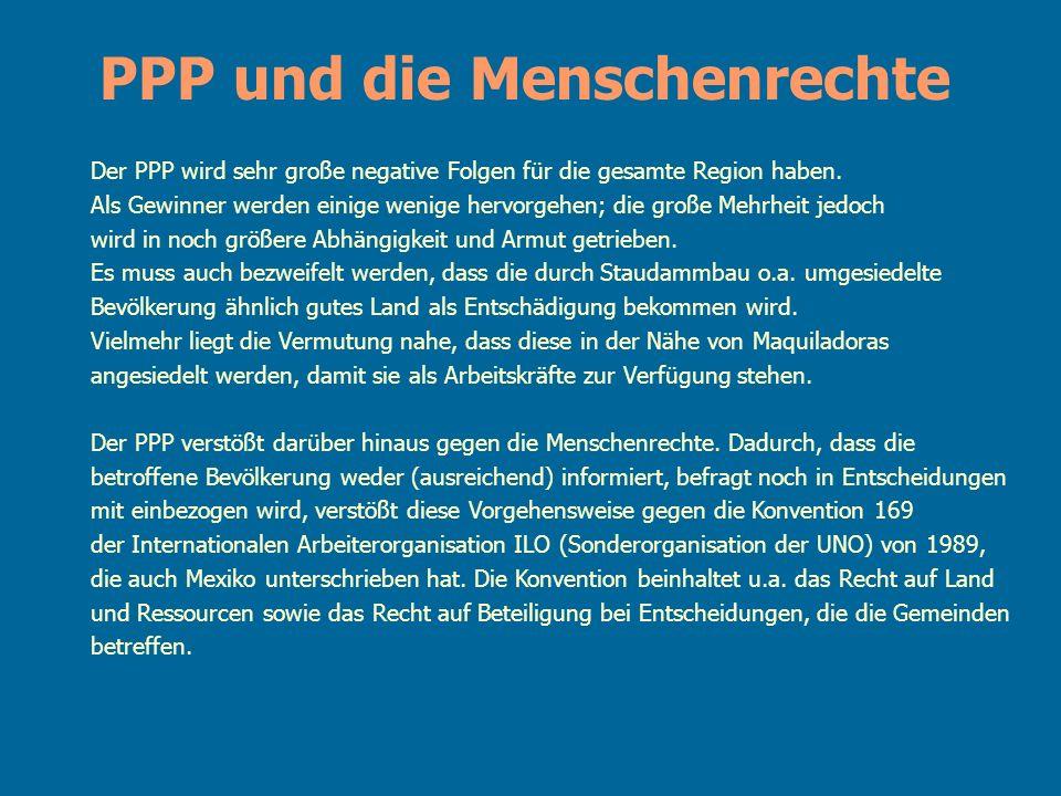 PPP und die Menschenrechte