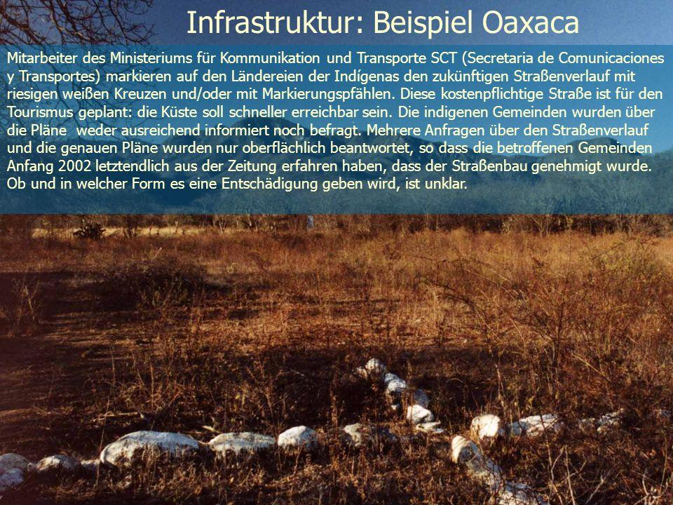 Infrastruktur: Beispiel Oaxaca