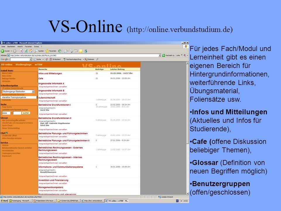 VS-Online (http://online.verbundstudium.de)