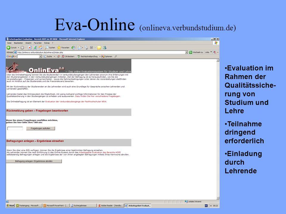 Eva-Online (onlineva.verbundstudium.de)