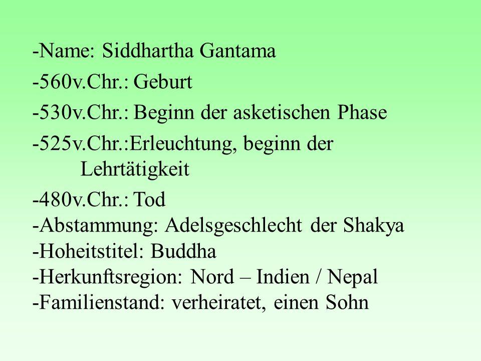 -Name: Siddhartha Gantama
