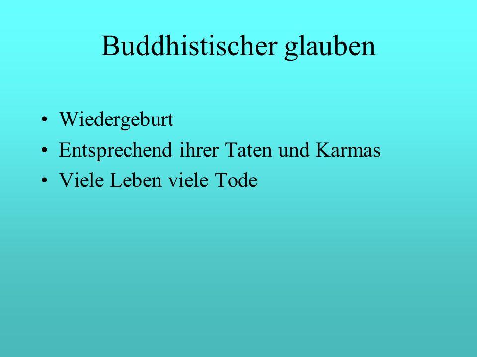 Buddhistischer glauben