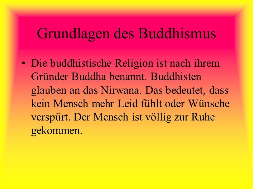 Grundlagen des Buddhismus