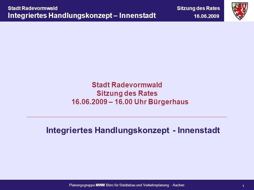 Integriertes Handlungskonzept - Innenstadt