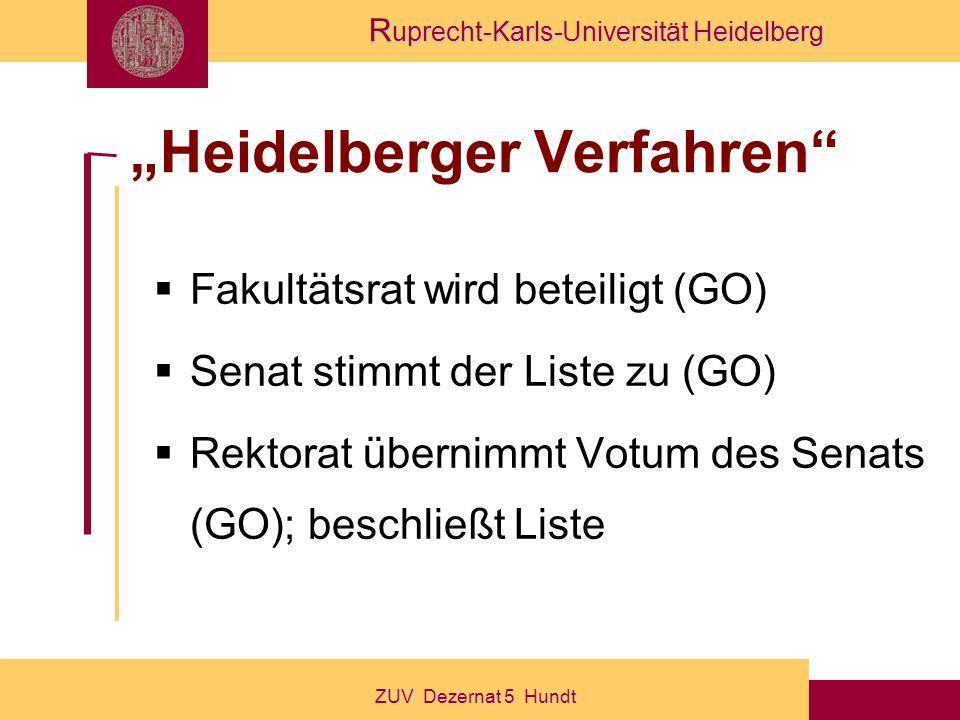 """""""Heidelberger Verfahren"""