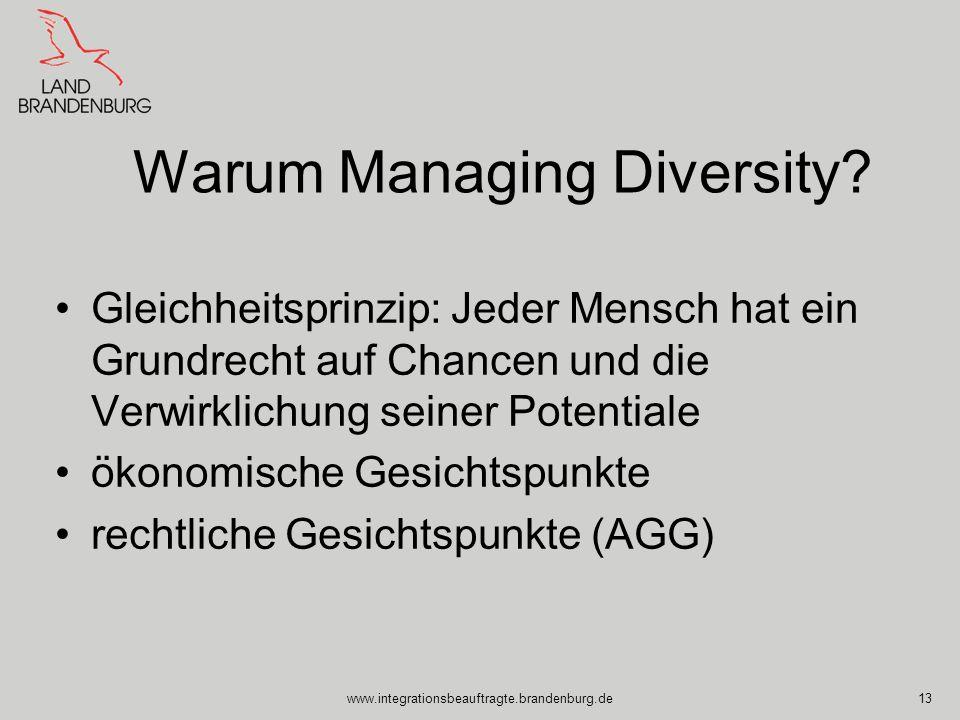 Warum Managing Diversity