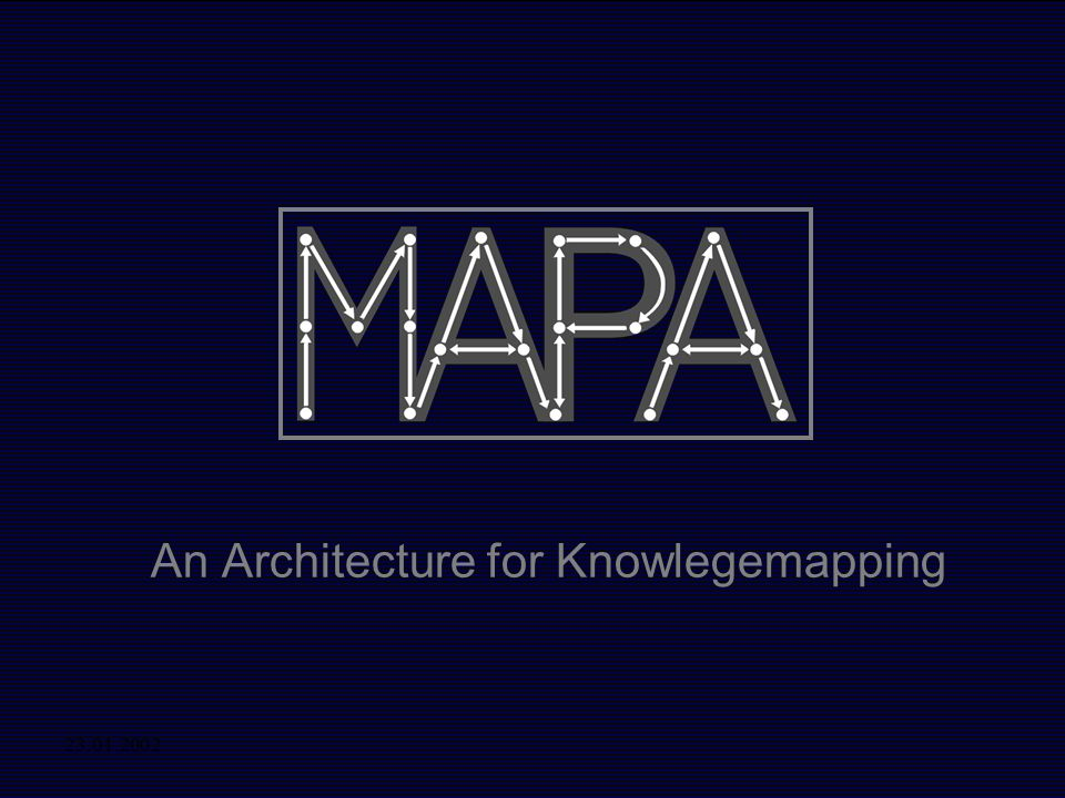 An Architecture for Knowlegemapping