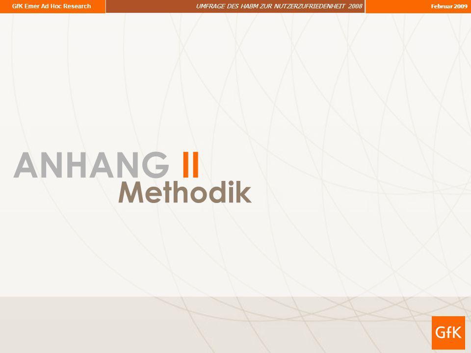 ANHANG II Methodik
