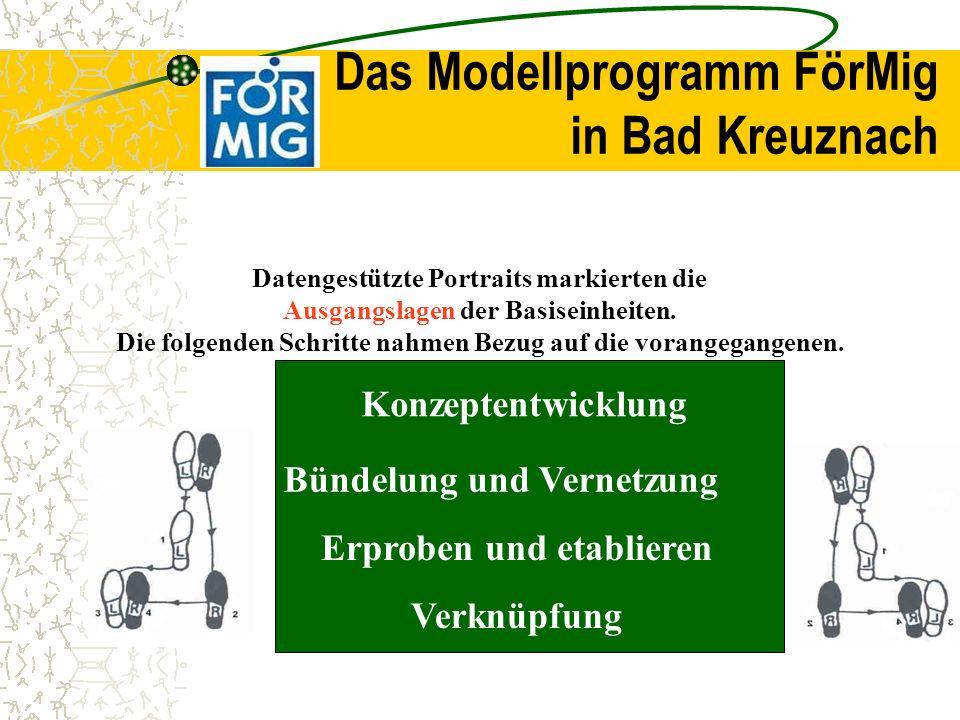 Das Modellprogramm FörMig in Bad Kreuznach