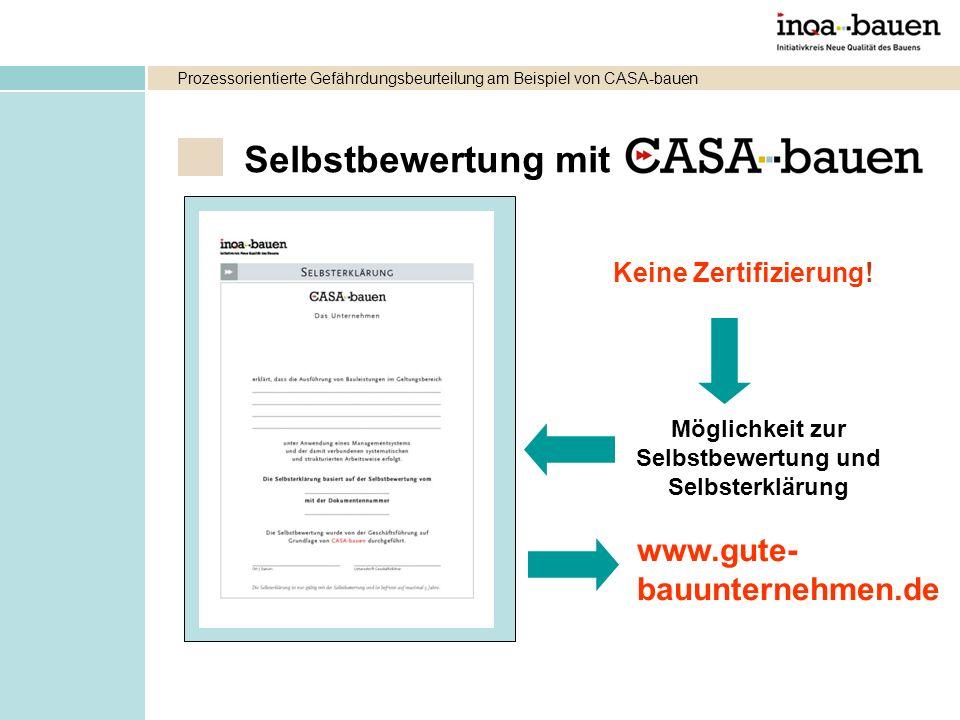 Selbstbewertung mit www.gute- bauunternehmen.de Keine Zertifizierung!