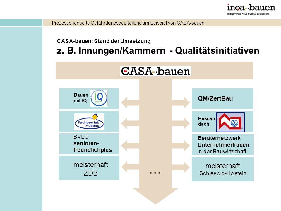 … z. B. Innungen/Kammern - Qualitätsinitiativen meisterhaft