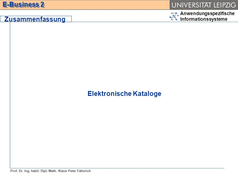 Elektronische Kataloge