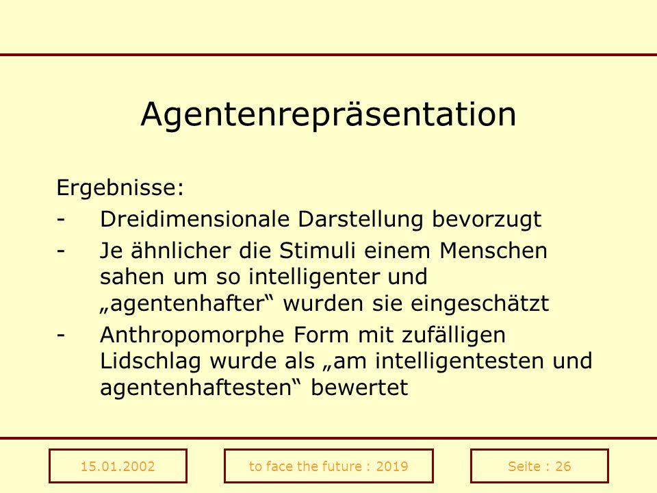 Agentenrepräsentation