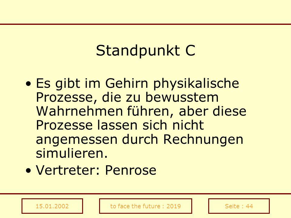 Standpunkt C