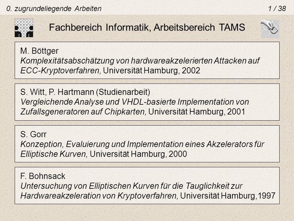 Fachbereich Informatik, Arbeitsbereich TAMS