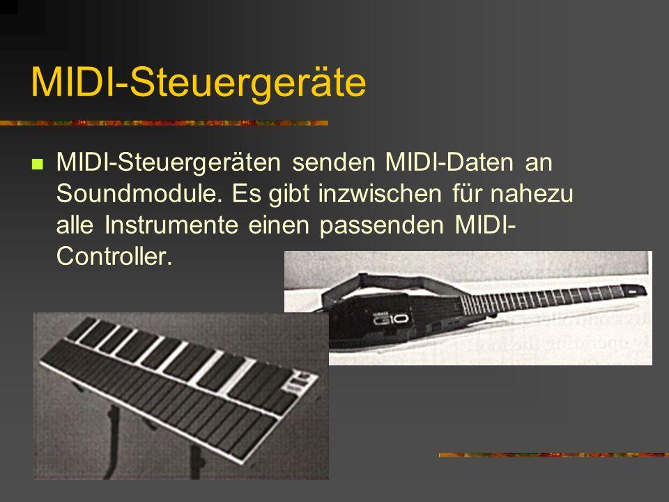 MIDI-Steuergeräte