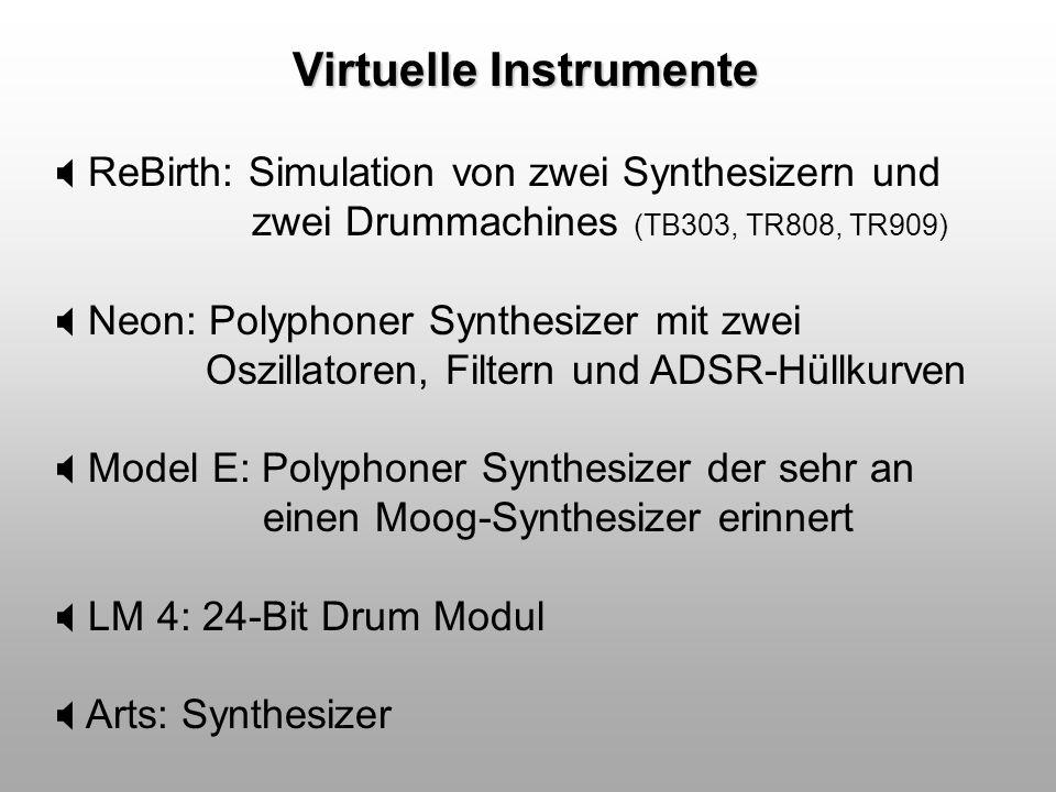 Virtuelle Instrumente
