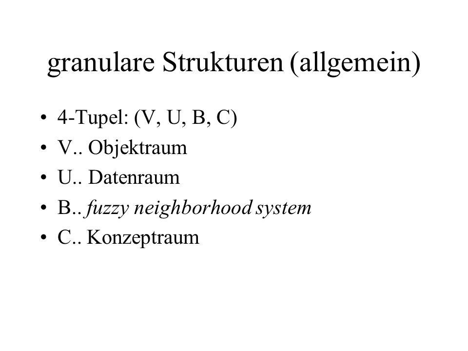 granulare Strukturen (allgemein)