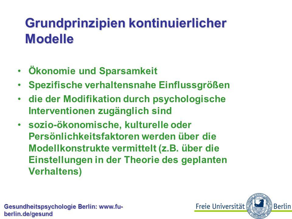 Grundprinzipien kontinuierlicher Modelle