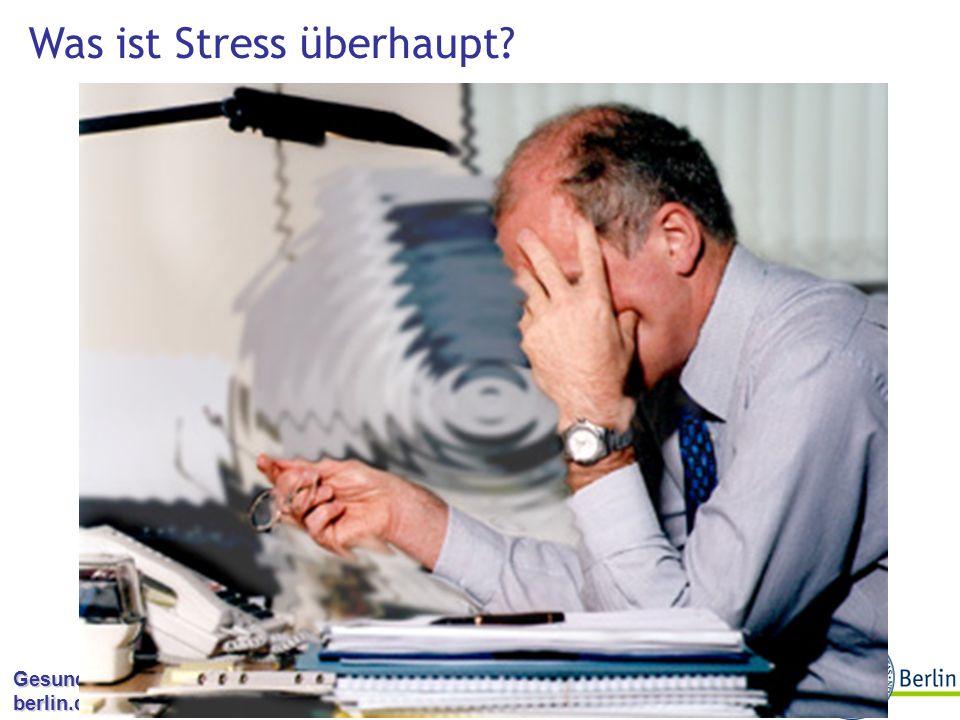 Was ist Stress überhaupt