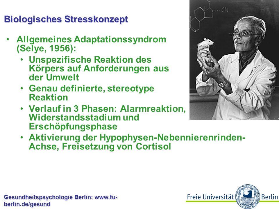 Biologisches Stresskonzept