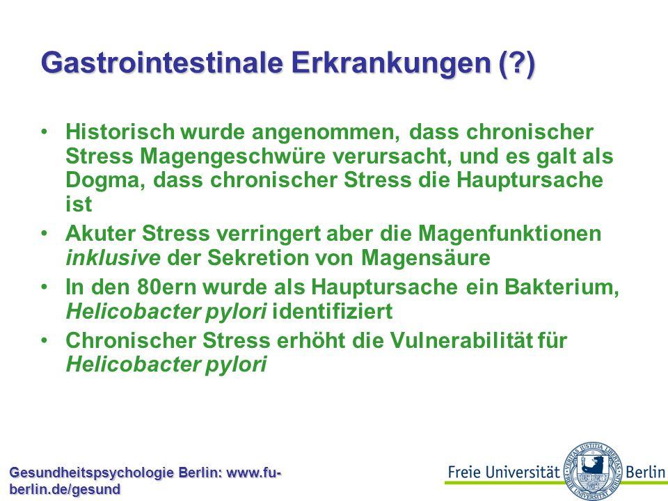 Gastrointestinale Erkrankungen ( )