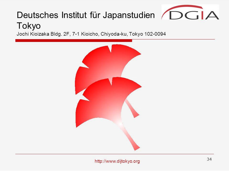 Deutsches Institut für Japanstudien Tokyo Jochi Kioizaka Bldg