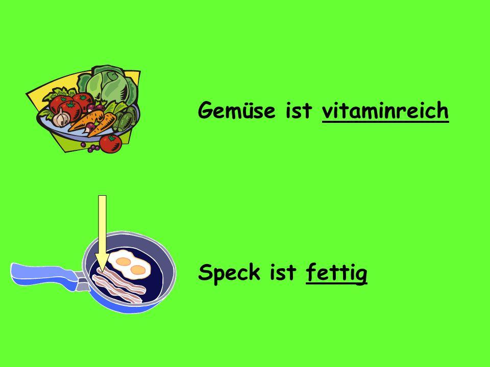 Gemüse ist vitaminreich