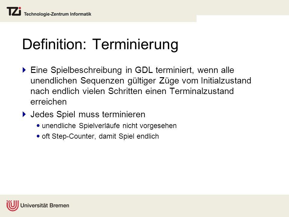 Definition: Terminierung