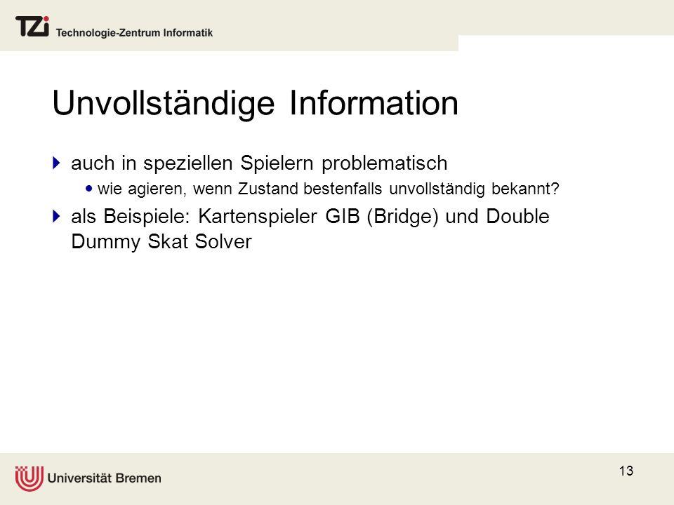 Unvollständige Information
