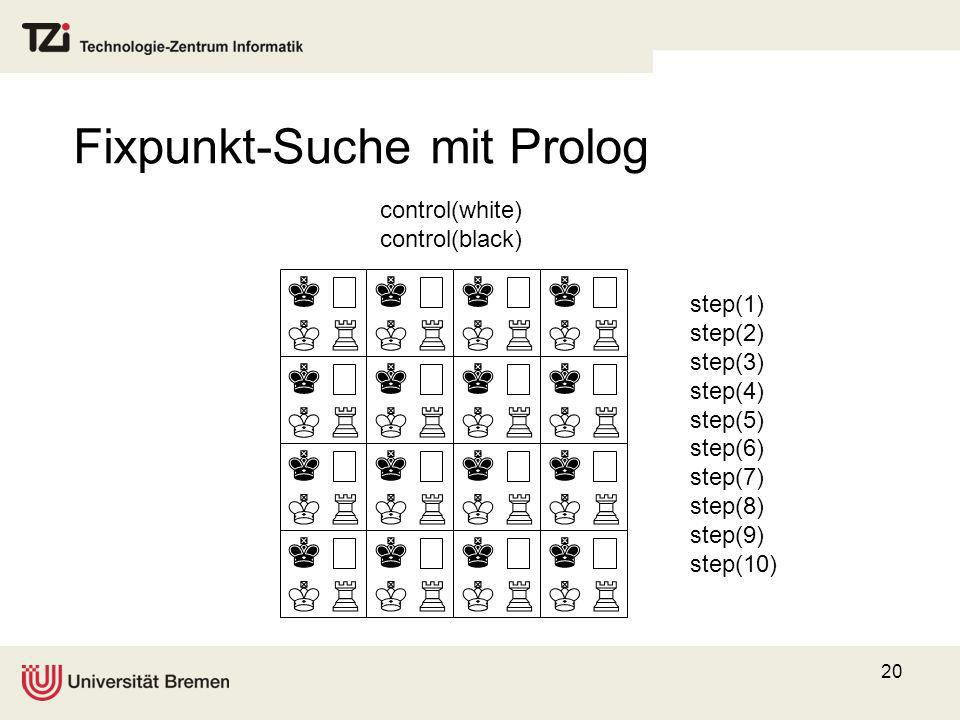 Fixpunkt-Suche mit Prolog
