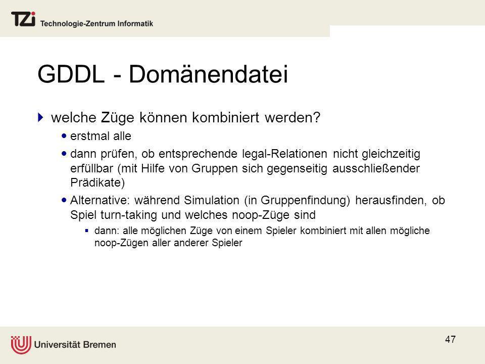 GDDL - Domänendatei welche Züge können kombiniert werden erstmal alle