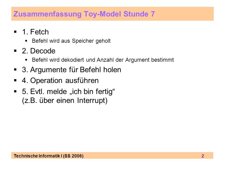 Zusammenfassung Toy-Model Stunde 7