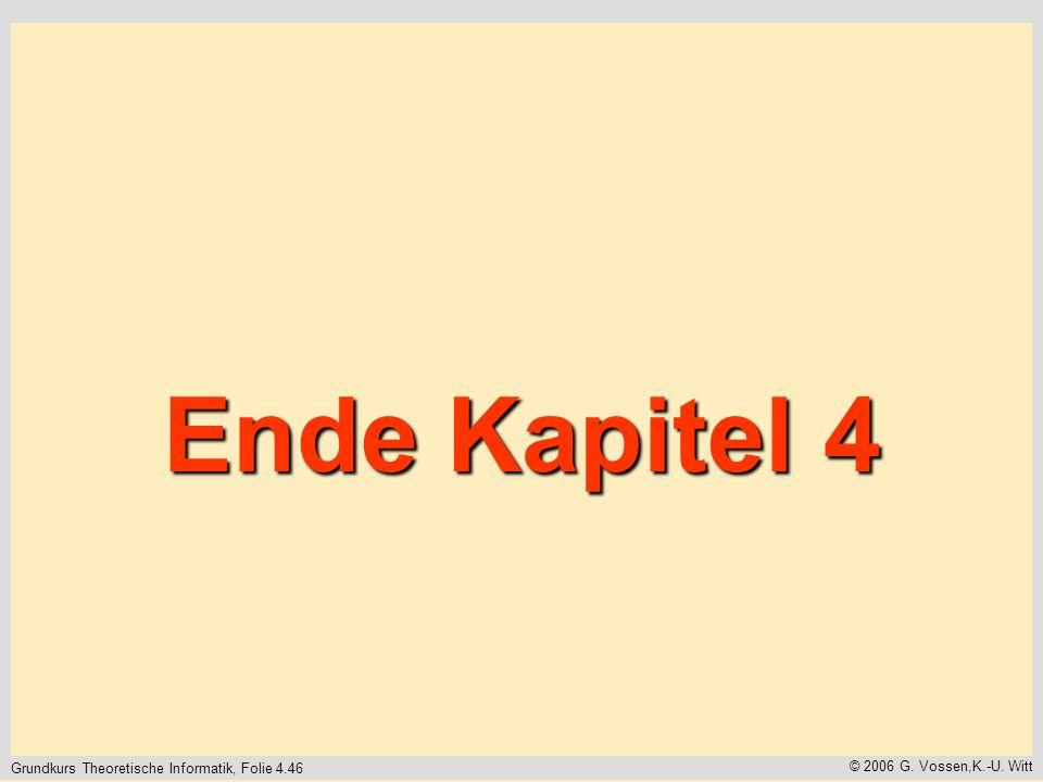 Ende Kapitel 4