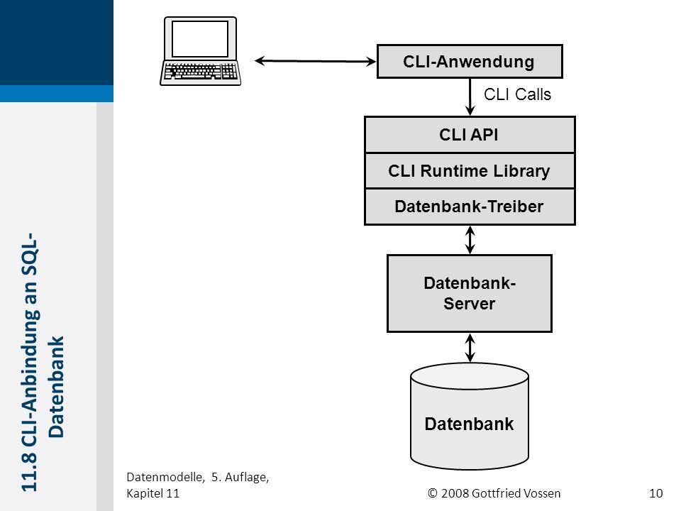 11.8 CLI-Anbindung an SQL-Datenbank