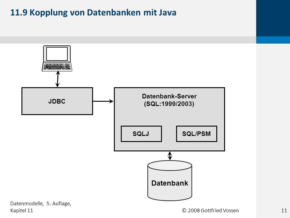 11.9 Kopplung von Datenbanken mit Java